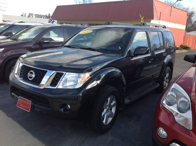 2012 nissan pathfinder 4x4 sv 4dr suv in bradley il for Nissan motor credit payoff phone number