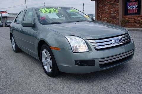 2009 Ford Fusion for sale at Premium Motors in Louisville KY