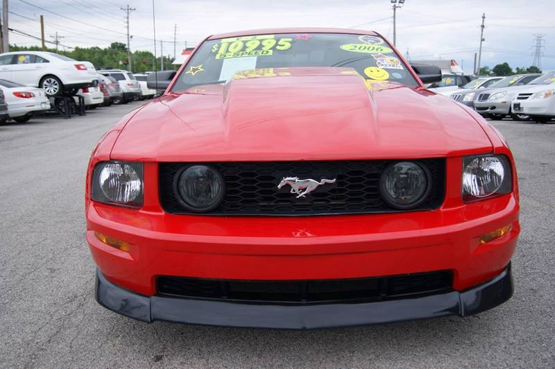 2006 Ford Mustang GT Premium 2dr Coupe - Louisville KY
