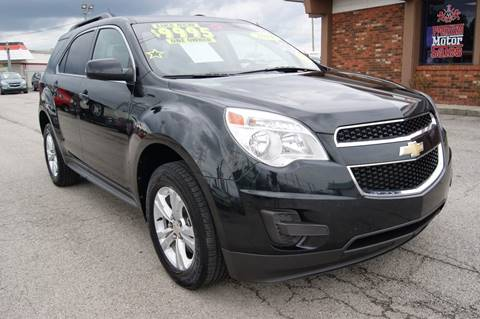 2011 Chevrolet Equinox for sale at Premium Motors in Louisville KY