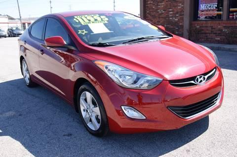 2013 Hyundai Elantra for sale at Premium Motors in Louisville KY