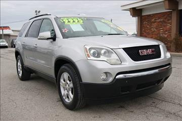 2007 GMC Acadia for sale at Premium Motors in Louisville KY