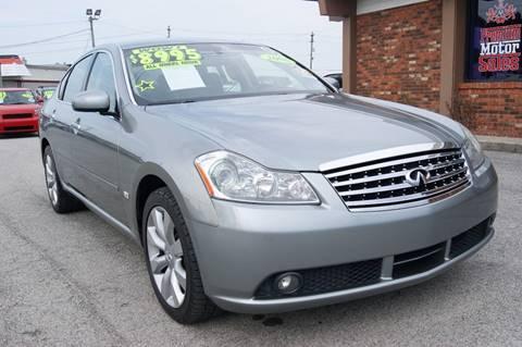 2006 Infiniti M35 for sale at Premium Motors in Louisville KY