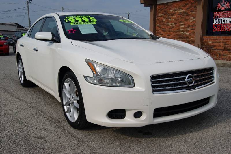 2010 Nissan Maxima for sale at Premium Motors in Louisville KY