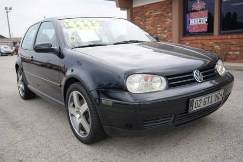 2002 Volkswagen GTI for sale in Louisville, KY