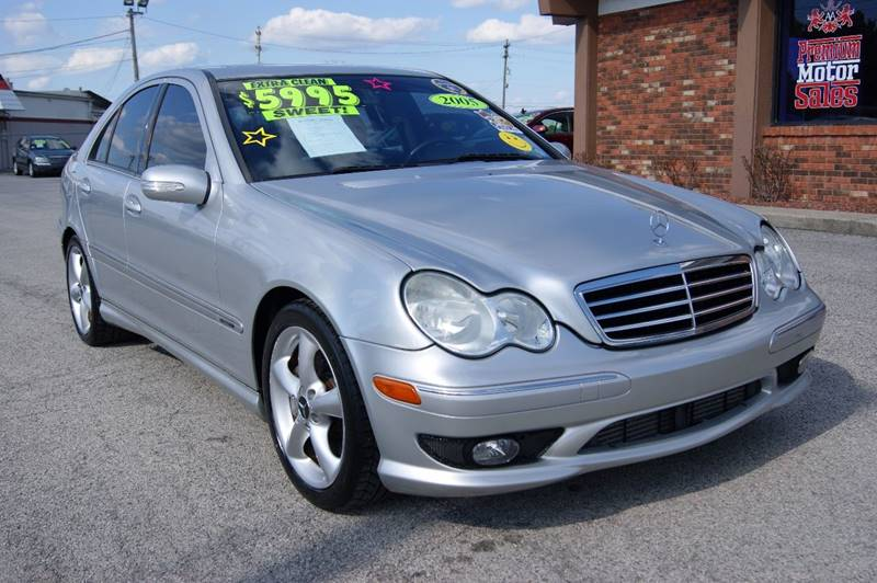 2005 Mercedes Benz C Class For Sale At Premium Motors In Louisville KY