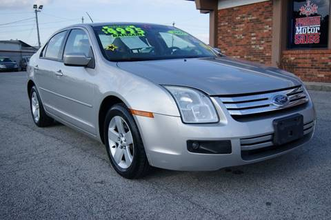 2007 Ford Fusion for sale at Premium Motors in Louisville KY
