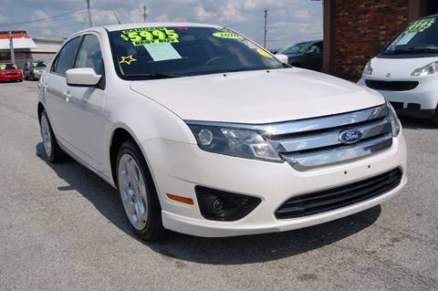 2010 Ford Fusion for sale at Premium Motors in Louisville KY