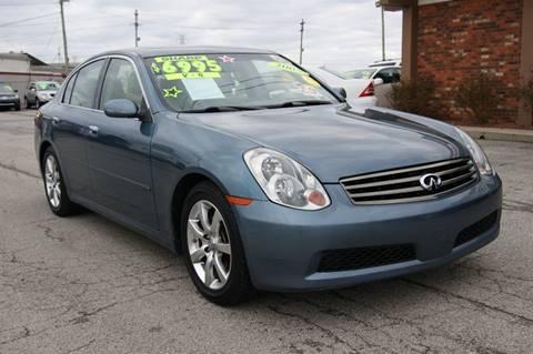 2005 Infiniti G35 for sale at Premium Motors in Louisville KY