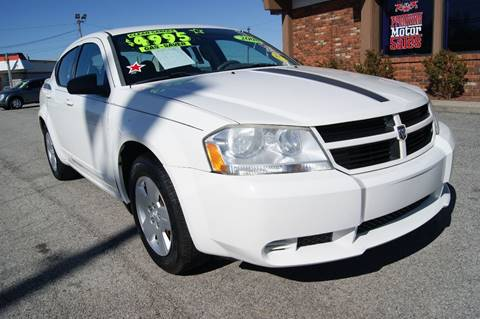 2008 Dodge Avenger for sale at Premium Motors in Louisville KY
