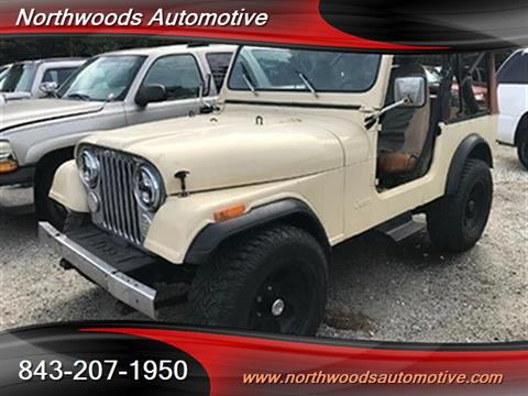 1984 Jeep CJ-7 for sale in North Charleston, SC