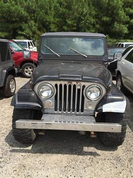 1980 Jeep CJ-7 for sale in North Charleston, SC