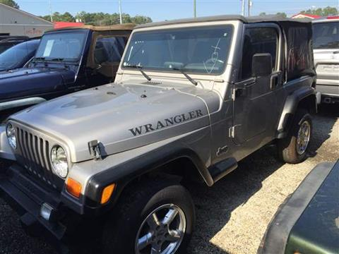 2001 jeep wrangler for sale in south carolina. Black Bedroom Furniture Sets. Home Design Ideas