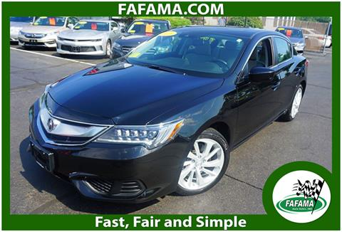 2016 Acura ILX for sale in Milford, MA