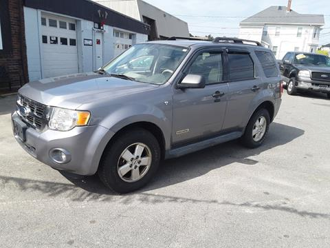 Fall River Ford >> 2008 Ford Escape For Sale In Fall River Ma