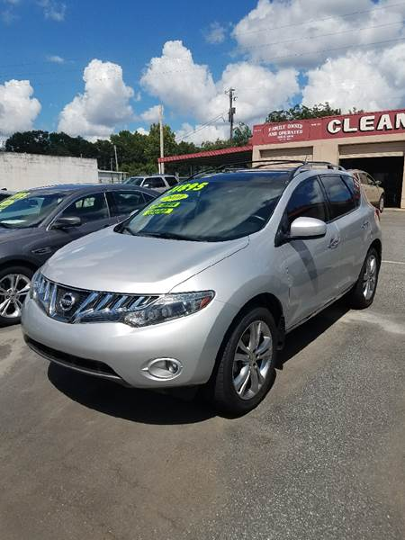 2010 Nissan Murano for sale at DON BAILEY AUTO SALES in Phenix City AL