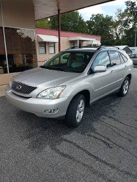 2007 Lexus RX 350 for sale at DON BAILEY AUTO SALES in Phenix City AL