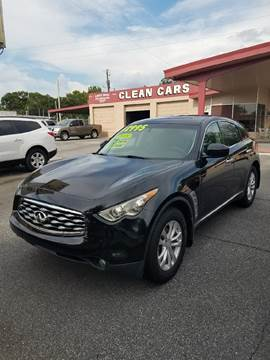 2009 Infiniti FX35 for sale at DON BAILEY AUTO SALES in Phenix City AL