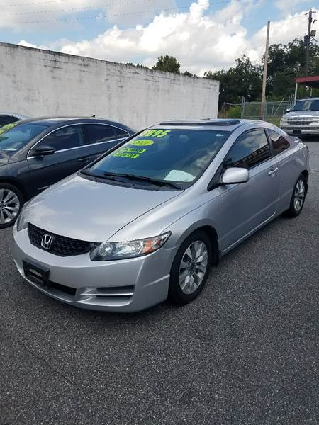 2011 Honda Civic for sale at DON BAILEY AUTO SALES in Phenix City AL