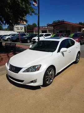 2008 Lexus IS 250 for sale at DON BAILEY AUTO SALES in Phenix City AL