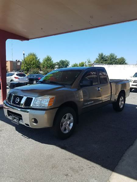 2007 Nissan Titan for sale at DON BAILEY AUTO SALES in Phenix City AL