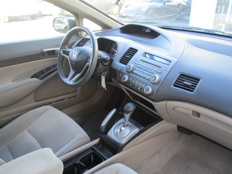 2009 Honda Civic LX 4dr Sedan 5A - El Cerrito CA