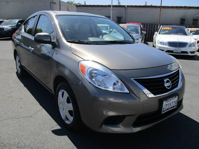 2012 Nissan Versa 1.6 S 4dr Sedan CVT - El Cerrito CA