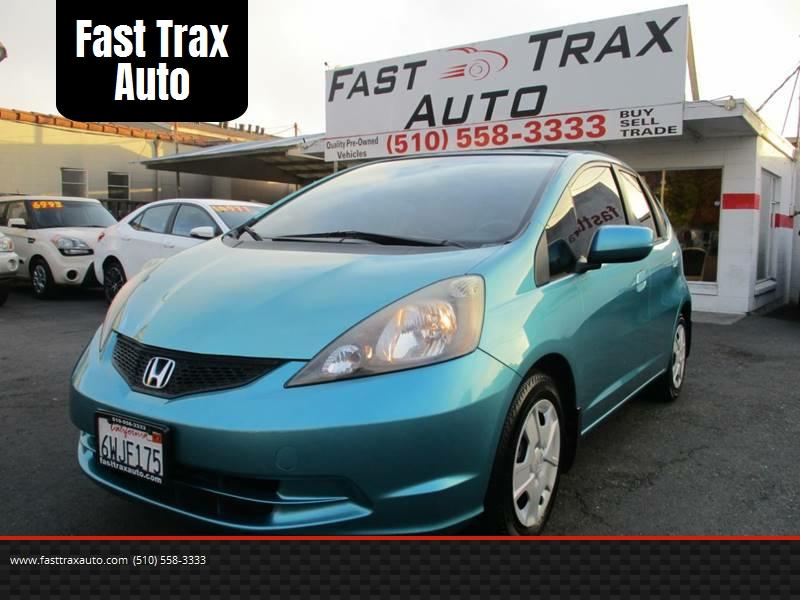 2013 Honda Fit For Sale At Fast Trax Auto In El Cerrito CA