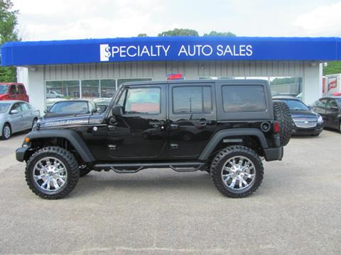 2016 Jeep Wrangler Unlimited for sale in Dickson, TN