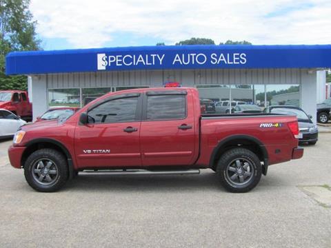2013 Nissan Titan for sale in Dickson, TN