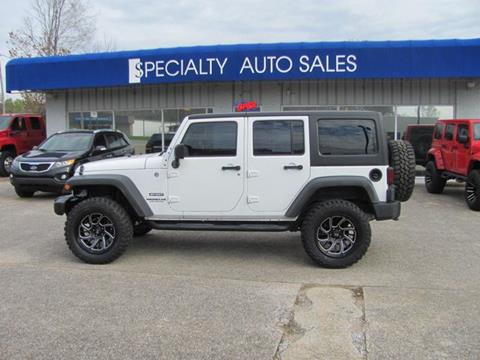 2014 Jeep Wrangler Unlimited for sale in Dickson, TN