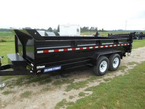 2020 Sure-Trac 7' x 14 '  14 K Dump Trailer for sale in Harbor Beach, MI