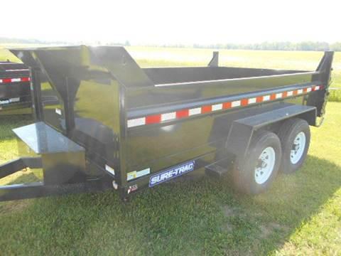 2020 Sure-Trac 7 x 12  Dump 12K for sale in Harbor Beach, MI