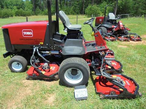 2008 Toro 4500D GROUNDSMASTER for sale at Mathews Turf Equipment in Hickory NC