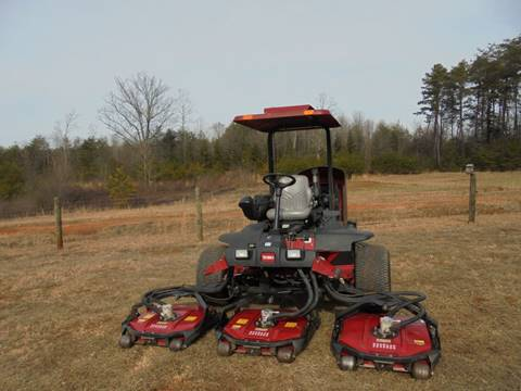 2012 Toro 4500D GROUNDSMASTER for sale in Hickory, NC