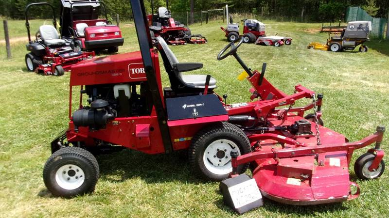 2007 Toro 328 GROUNDSMASTER for sale at Mathews Turf Equipment in Hickory NC