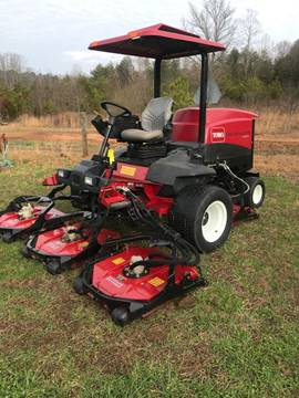 2009 Toro 4500 Groundsmaster for sale at Mathews Turf Equipment in Hickory NC
