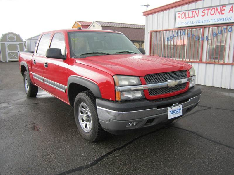 2005 chevrolet silverado 1500 4dr crew cab lt 4wd sb in strasburg co rollin stone auto sales. Black Bedroom Furniture Sets. Home Design Ideas