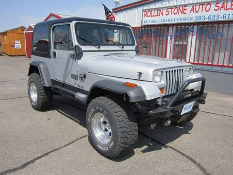 1991 Jeep Wrangler for sale in Strasburg, CO