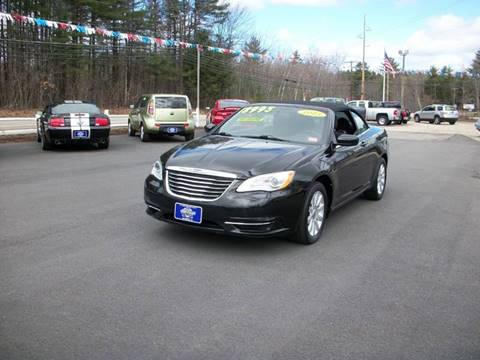 2013 Chrysler 200 Convertible for sale in Rochester, NH