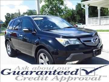 2007 Acura MDX for sale in Plant City, FL