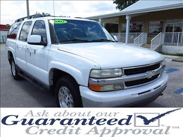 2002 Chevrolet Suburban for sale in Plant City, FL