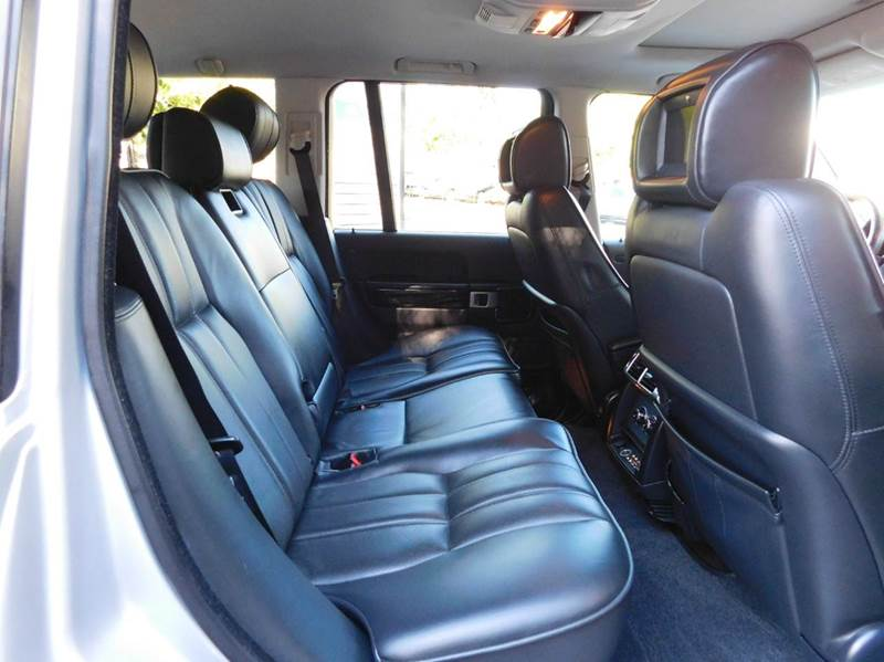 2007 Land Rover Range Rover Supercharged 4dr SUV 4WD - Auburn CA