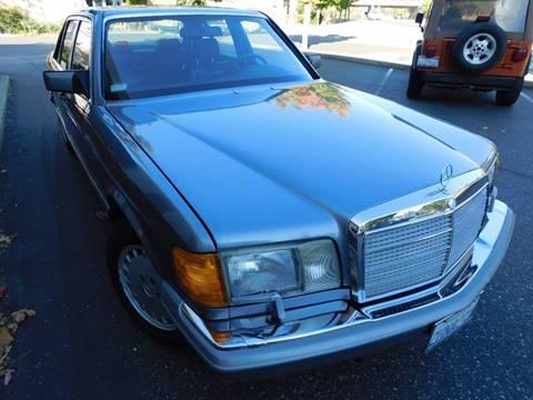 1987 Mercedes-Benz 420-Class for sale in Auburn, CA