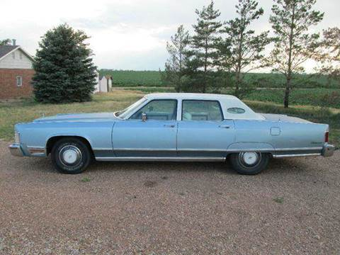 1975 Lincoln Continental for sale at STEVES ROLLIN STONE AUTO SALES in Eaton CO