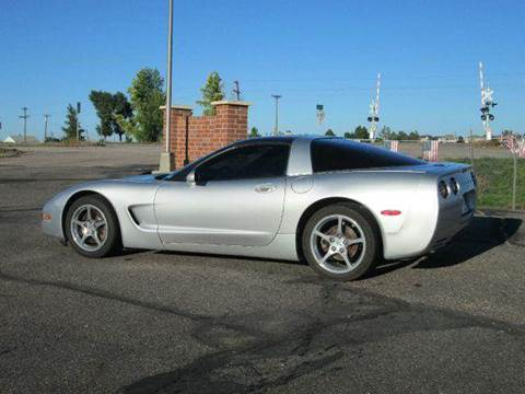 2002 Chevrolet Corvette for sale at STEVES ROLLIN STONE AUTO SALES in Eaton CO