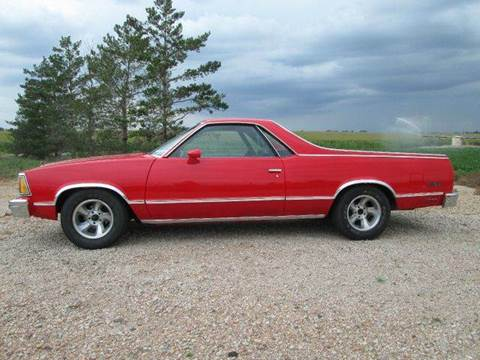 1981 Chevrolet El Camino for sale at STEVES ROLLIN STONE AUTO SALES in Eaton CO