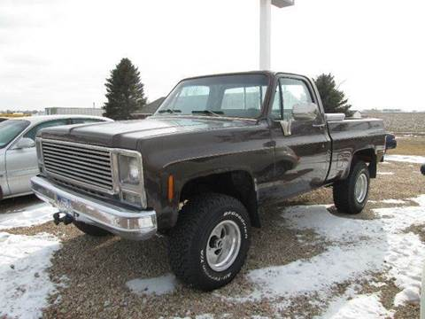 1979 GMC C15 for sale at STEVES ROLLIN STONE AUTO SALES in Eaton CO
