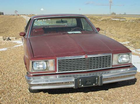 1978 Chevrolet El Camino for sale at STEVES ROLLIN STONE AUTO SALES in Eaton CO