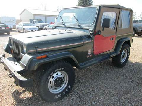 1995 Jeep Wrangler for sale in Eaton, CO